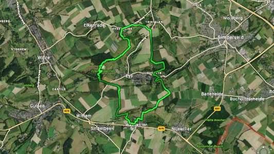 Virtuele Fauvenwandeling Zuid-Limburg